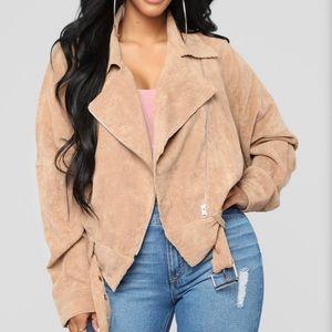 Camel colored jacket